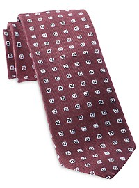 Michael Kors Central Medallion Tie