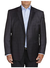 Jack Victor Medium Check Sport Coat - Executive Cut
