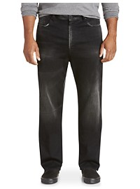 Buffalo David Bitton Black Sandra Wash Jeans
