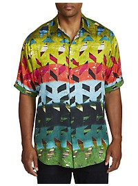 Robert Graham Sharpe Multi Print Sport Shirt
