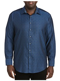 Robert Graham Diamante Tonal Sport Shirt