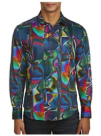 Robert Graham Hall of Mirrors Print Sport Shirt