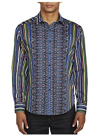 Robert Graham Steele Stripe Sport Shirt