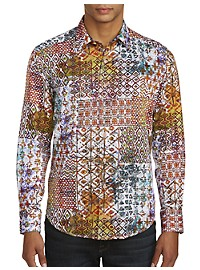 Robert Graham Rhone River Print Sport Shirt