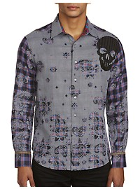 Robert Graham Limited Edition Print Sport Shirt
