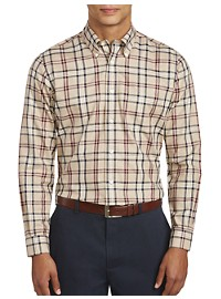 Brooks Brothers Non-Iron Tartan Plaid Sport Shirt