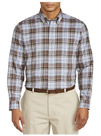 Brooks Brothers Brushed Flannel Sport Shirt
