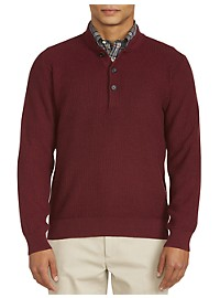 Brooks Brothers Waffle-Knit Pullover