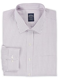 Brooks Brothers Non-Iron Stretch Windowpane Dress Shirt