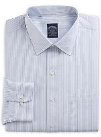 Brooks Brothers Non-Iron Stretch Stripe Dress Shirt