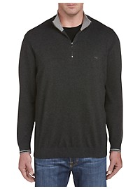 Michael Kors Tipped 1/4-Zip Sweater