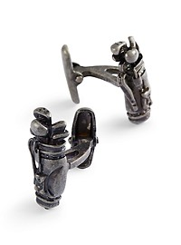 Jan Leslie Golf Bag Cuff Links