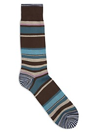 Robert Graham Multi Stripe Socks