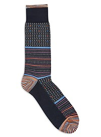 Robert Graham Multi-Pattern Socks