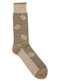 Robert Graham Paisley Socks