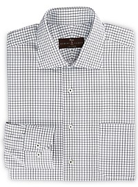 Robert Talbott Diamond Check Dress Shirt