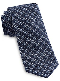 Robert Talbott Best Of Class Jacquard Diamond Medallion Tie