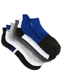 Polo Ralph Lauren 6-pk Athletic Low-Cut Socks