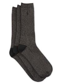 Polo Ralph Lauren 3-pk Supersoft Ragg Crew Socks