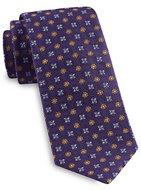 Brooks Brothers Floral Medallion Tie