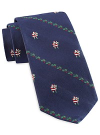 Brooks Brothers Santa Tie