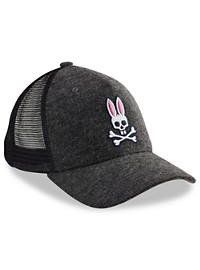 Psycho Bunny Heathered Baseball Cap
