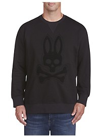 Psycho Bunny Embroidered Logo Pullover