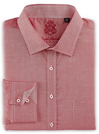 English Laundry Square Neat Dress Shirt