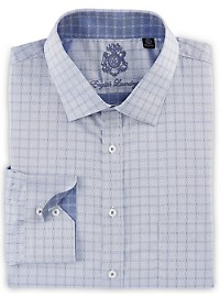 English Laundry Windowpane Dress Shirt