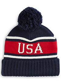 Polo Ralph Lauren USA Pom Hat