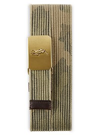 Polo Ralph Lauren Camo Plaque Buckle Belt