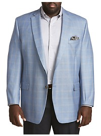 Ralph by Ralph Lauren Windowpane Sport Coat - Executive Cut