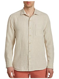 Tommy Bahama Seaspray Breezer Long-Sleeve Linen Sport Shirt