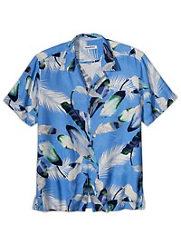 Tommy Bahama Garden of Hope & Courage Silk Camp Shirt