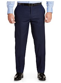 English Laundry Tonal Mini Check Suit Pants - Unhemmed