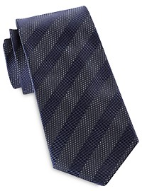 Jack Victor Multi Textured Stripe Tie