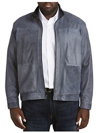 Remy Distressed Leather Jacket