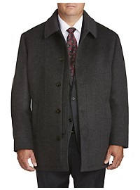 Lauren by Ralph Lauren Ledbetter Textured Overcoat