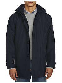 Daniel Hechter Paris Water Resistant Hooded Overcoat