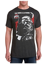 Retro Brand Darth Vader Ohio State Team Tee