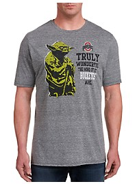 Retro Brand Ohio State Yoda T-Shirt