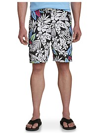 Tommy Bahama Baja Luau Leaves Swim Trunks