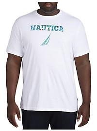 Nautica Palm Tree Logo T-Shirt