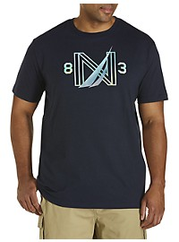 Nautica Gradient N Graphic Tee