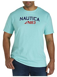 Nautica Big Wave Surf Graphic Tee