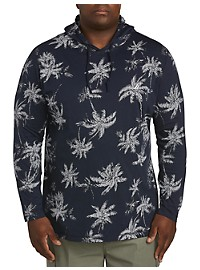 Nautica Palm Print Pullover Hoodie