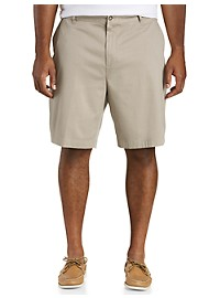 Nautica Stretch Flat Front Deck Shorts