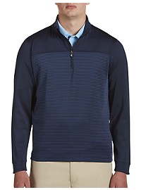 Cutter & Buck Traverse Stripe 1/2-Zip Pullover
