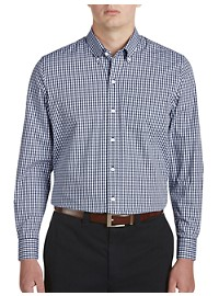 Cutter & Buck Stretch Gingham Sport Shirt