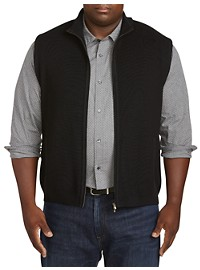 St. Croix Full-Zip Sweater Vest
